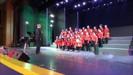 黄自,《踏雪寻梅》,霍洛韦童声合唱团18年冬季音乐会,卢长剑指挥
