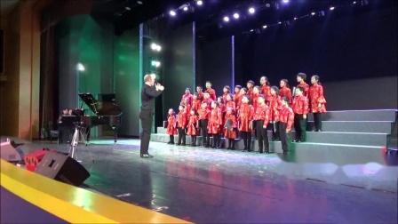 《茉莉花》 (杨鸿年编),霍洛韦童声合唱团18年冬季音乐会,卢长剑指挥