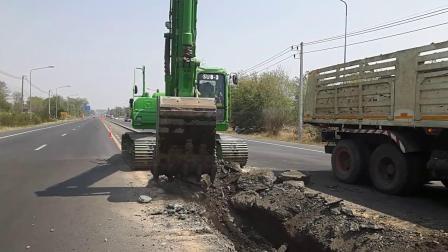 泰国徐工XE215CT 挖掘机在装载自卸车 EP.4188