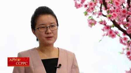 孟昊文在中国国际电视台法语频道的采访