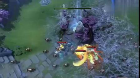 DOTA2搞笑视频:修补匠、巨魔、蜘蛛悄悄偷塔,这个有点坏了