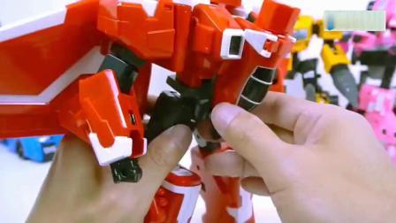 超帅的汽车变形机器人玩具!百变机兽之洛洛历险记比谁更帅?