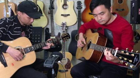 卡马A1-D全单吉他合奏试听