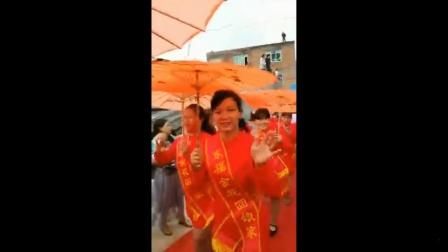 广西钦州市钦北区新棠镇东福村首届金花回娘家