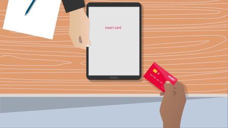 带有内置指纹识别的借记卡已在英国开始试用