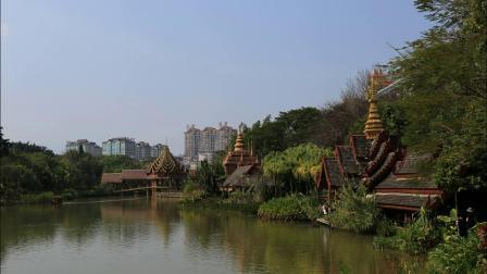 穿越雲南看風景—西雙版納村寨式公園(圖片)篇