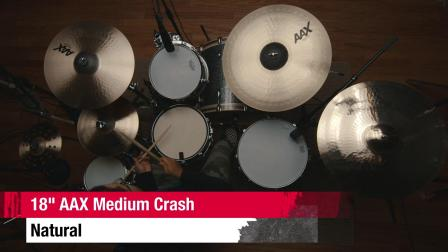 "SABIAN 18""AAX Medium Crash"