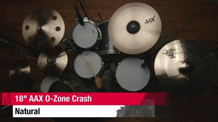 "SABIAN 18""AAX O-Zone Crash"