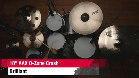 """SABIAN 18""""AAX O-Zone Crash BR"""