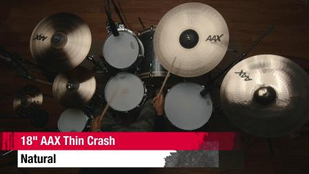"SABIAN 18""AAX Thin Crash"