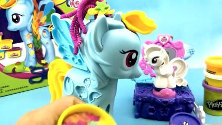 儿童早教欢乐谷 小马宝莉亲子玩具测试