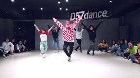 【D57舞蹈工作室】超燃Hiphop单曲《Plain Jane》—— BADA编舞