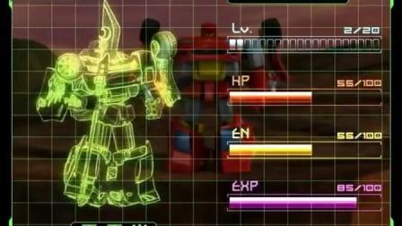 百变机兽之洛洛历险记:霹雳火占据高台 黑铁兽来一只KO一只