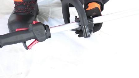 左师傅背负式割灌机操作视频