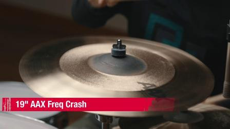 "SABIAN 19""AAX Freq Crash"