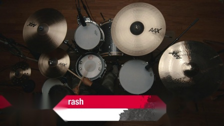 "SABIAN 19""AAX Thin Crash"