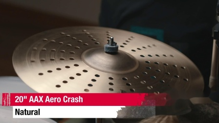 "SABIAN 20""AAX Aero Crash"