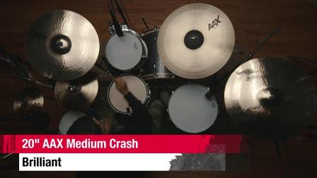"SABIAN 20""AAX Medium Crash BR"