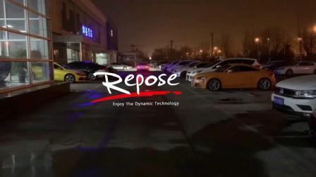 奔驰CLA220 Repose中尾段阀门款排气 开阀门路跑声音效果视频