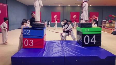 中国龙队示范团 龙英道场 龙拳小子 跆拳道 品势 特技