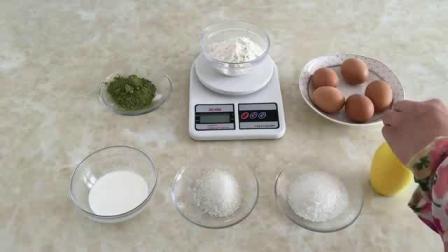 手工制作蛋糕 烘培视频教程 抹茶蛋糕卷的做法