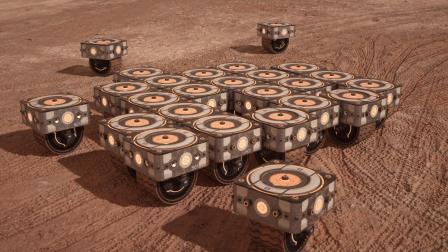 HASSELL + EOC presents MARS HABITAT