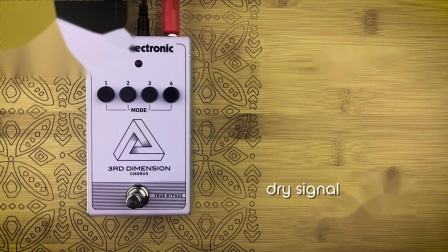 P&B Pedal Tones - 3rd Dimension chorus by TC Electronic