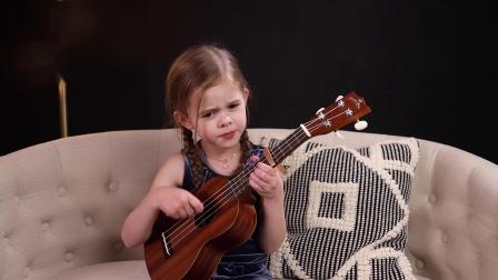 骗你生女儿系列-Claire Crosby-ukulele-情不自禁爱上你