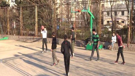 青岛大学2019年《运动青大 》3月13日体育活动:篮