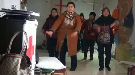 基督教歌曲舞蹈:新年我们心爱神【舞蹈排练】