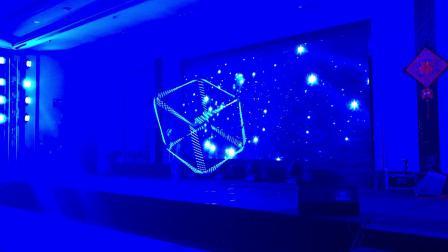 杂技表演魔幻立方体