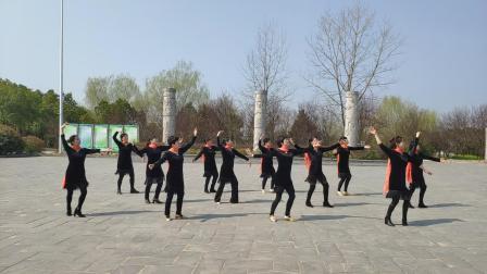 肥西尚舞艺术团《梦见你的那一夜》教练:李磊 表演:王玲等
