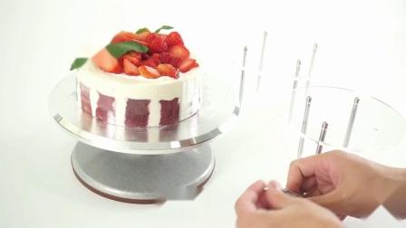【蛋糕架安装】四柱蛋糕架
