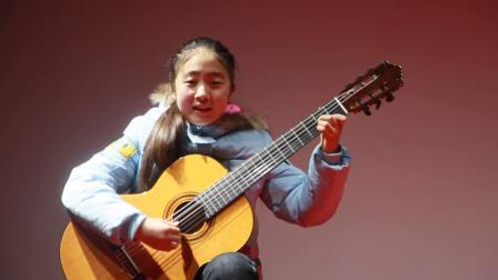 泗洪学吉他 小草 张澜宁吉他弹唱 天音吉他