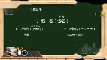 日语的平假名