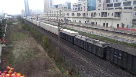 【2019.02.20】[沪昆线贵昆段][安顺市人民医院旁]电力81107次  SS3B 0077
