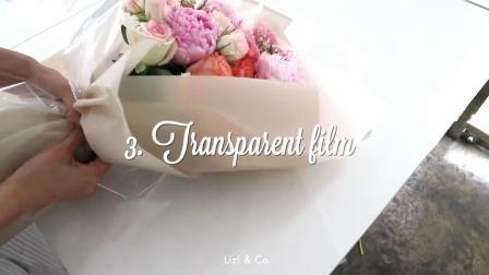 韩式花束花艺视频教程 DIY花束包装教程韩式风格