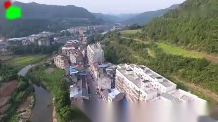 天王星影音:掌上大坪●南部县大坪镇2018年航拍