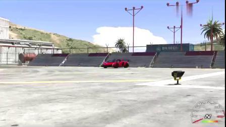 GTA5:帕加尼风之子VS兰博基尼毒药,兰博基尼太强悍了!