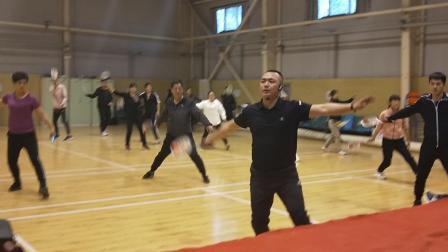 2019晋中市校园柔力球骨干教师培训班初级版《呼伦贝尔大草原》章海江老师和学员