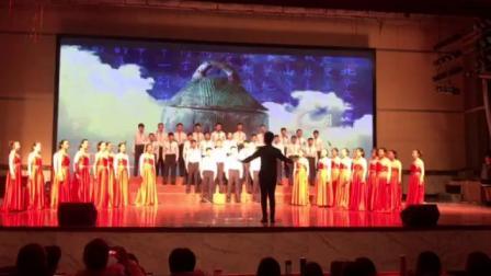 (歌唱祖国)2019年3月16日枣庄三中高一13班歌咏比赛