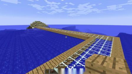 我的世界:修好路来转一圈居然有发现一个海岸,再修一条路
