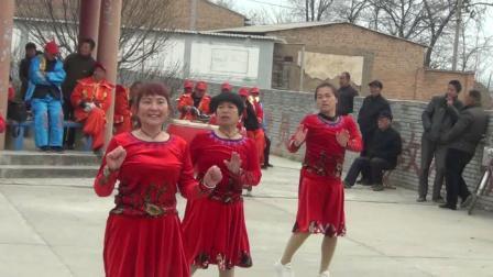 许庄镇石槽村庆祝三八妇女节文艺汇演02