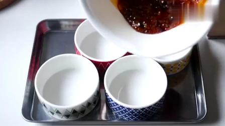 制作牛奶焦糖布丁