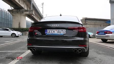 【杭州GeekAuto】奥迪S4改Jbom头段排气 声浪