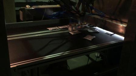 并联机器人调料包、大酱分拣