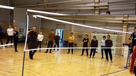 2019晋中市校园柔力球骨干培训班章海江老师讲解竞技基本技术5