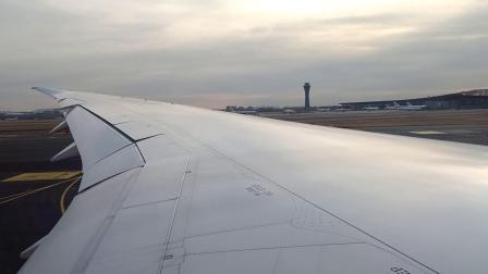 海航B787-9在北京首都国际机场推出至起飞全程