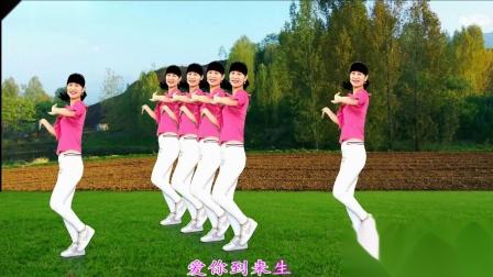 徐州精典影视传媒燕子广场舞《那个人》流行歌曲 演唱:吴猛 32步弹跳步子舞附教学-国语1080P