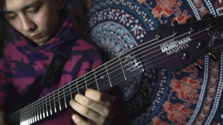 MusicMan MAJESTY 7 紫铲